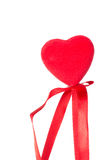 One red hearts Royalty Free Stock Photos