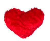 One red hearts Stock Images