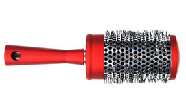 One red massages comb Royalty Free Stock Images