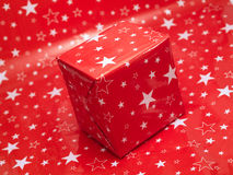 One red present Stock Image
