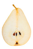 One a red-yellow slices of pear Stock Photography