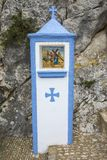 Religious Shrine in Guadalest. One of the religious shrines at Castillo de San Jose in Guadalest, Spain Stock Photography