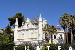 One of the residential area of Marseille Stock Photos
