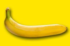 One ripe banana closeup Stock Image