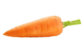One ripe carrot Royalty Free Stock Images