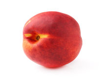 One ripe peach Royalty Free Stock Image