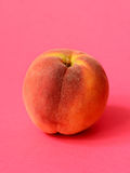 One ripe peach royalty free stock images