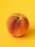One ripe peach stock photos