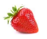One ripe strawberry Stock Photos