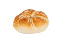 One roll bread Royalty Free Stock Photos
