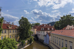 One romantic place in Prague Royalty Free Stock Photo