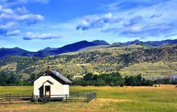 One Room School House Royalty Free Stock Images