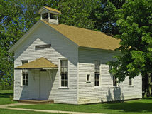 One-room schoolhouse. Old-fashioned one-room schoolhouse located in romulus new york,built in 1823 Royalty Free Stock Photography