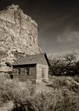 One-room schoolhouse Stock Images