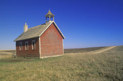 One room schoolhouse Royalty Free Stock Image