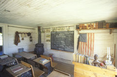 One room schoolhouse Royalty Free Stock Photos