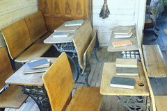 One room schoolhouse Stock Photography