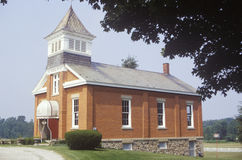 One room schoolhouse, OH Stock Image