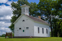 One room schoolhouse, spencer brook Royalty Free Stock Image