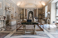 One of the rooms of the Vatican Museum. Stock Image