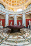 One of the rooms of the Vatican Museum. Royalty Free Stock Photo
