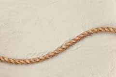 One rope Royalty Free Stock Images
