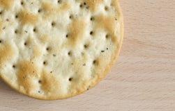 One round cracker Stock Photos