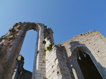 One of the ruins of Visby on Gotland Stock Photo
