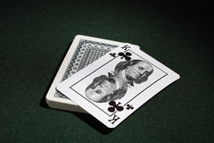 One's trump card. Royalty Free Stock Images