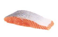 One salmon fillet. Royalty Free Stock Photo