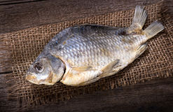 One salted fish Stock Photography