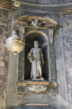 One of the sculptures in the Basilica Stock Image