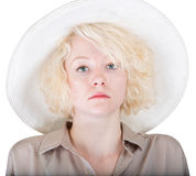 One Serious Woman Stock Image