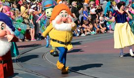 One of the Seven Dwarfs Stock Image
