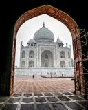One of the seven wonders of the World - Taj Mahal, Agra, India. One of the seven wonders of the World - Taj Mahal , Agra is the best heritage place to visit stock image