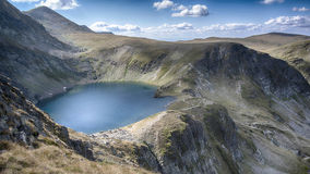One of the Seven Rilla lakes. One of the Seventh Rilla's lakes in Bulgaria Royalty Free Stock Photography