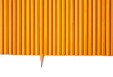 One sharp pencil Stock Photo