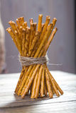 One sheaf of stick biscuits Stock Photography