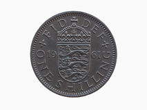 One shilling coin Royalty Free Stock Image