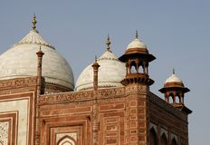 One of the side buildings in the Taj Mahal, India Stock Image