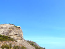 One side the cliff of Chopstick Mountain Royalty Free Stock Photo