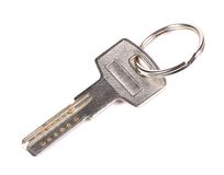 One silver key Royalty Free Stock Images
