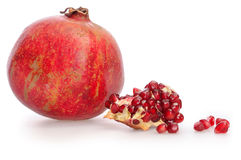 One simple pomegranate Royalty Free Stock Photography