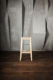 One simple stool Stock Image