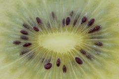 One slice of golden kiwi Stock Photography