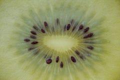 One slice of golden kiwi Royalty Free Stock Photography