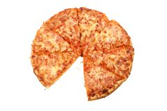 One Slice Gone Stock Photography