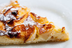 One slice of pie dessert Stock Image