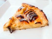 One slice of pie dessert Royalty Free Stock Image