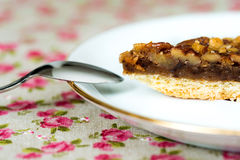One slice of pie dessert Royalty Free Stock Images
